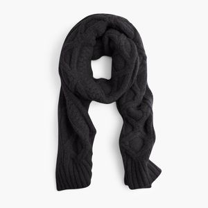 J. Crew Accessories - New J.Crew Oversized Cable Knit Scarf
